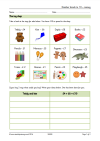 Find number work activities for early years and ks1