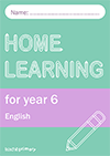 Home learning for year 6 pack