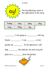 Find activities on vocabulary and SPaG