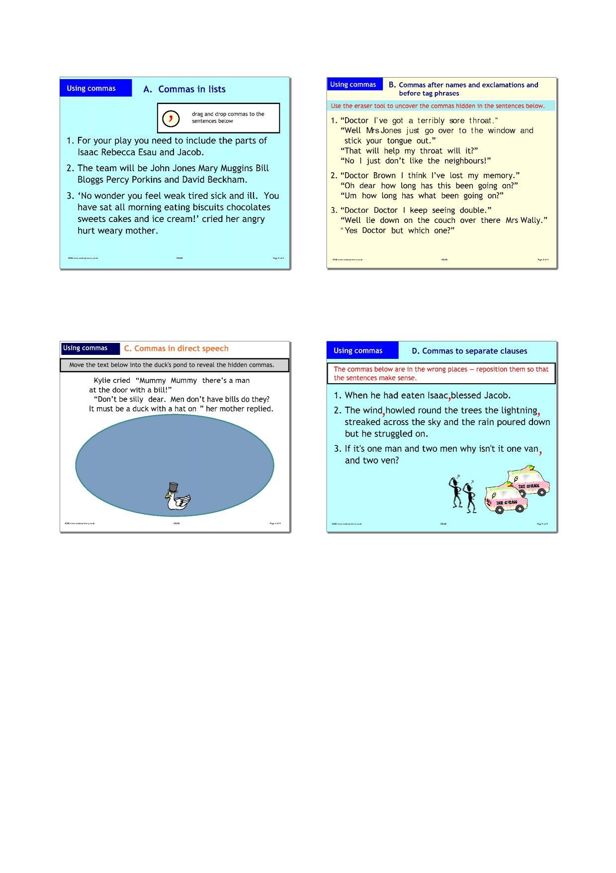 EYFS | KS1 | KS2 | Basic punctuation | Teachit Primary