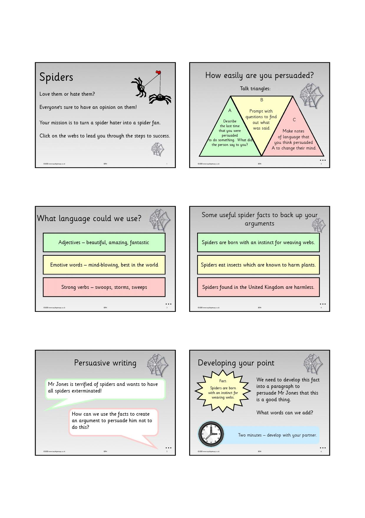persuasive writing primary resources Persuasive writing teaching resources for key stage 1 - year 1, year 2 created for teachers, by teachers professional non-fiction teaching resources.
