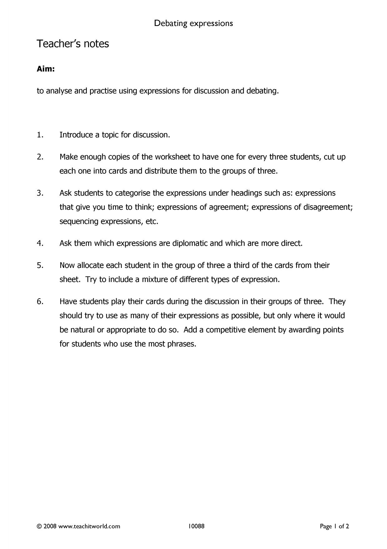 Exam resources | IELTS | Teachit Languages