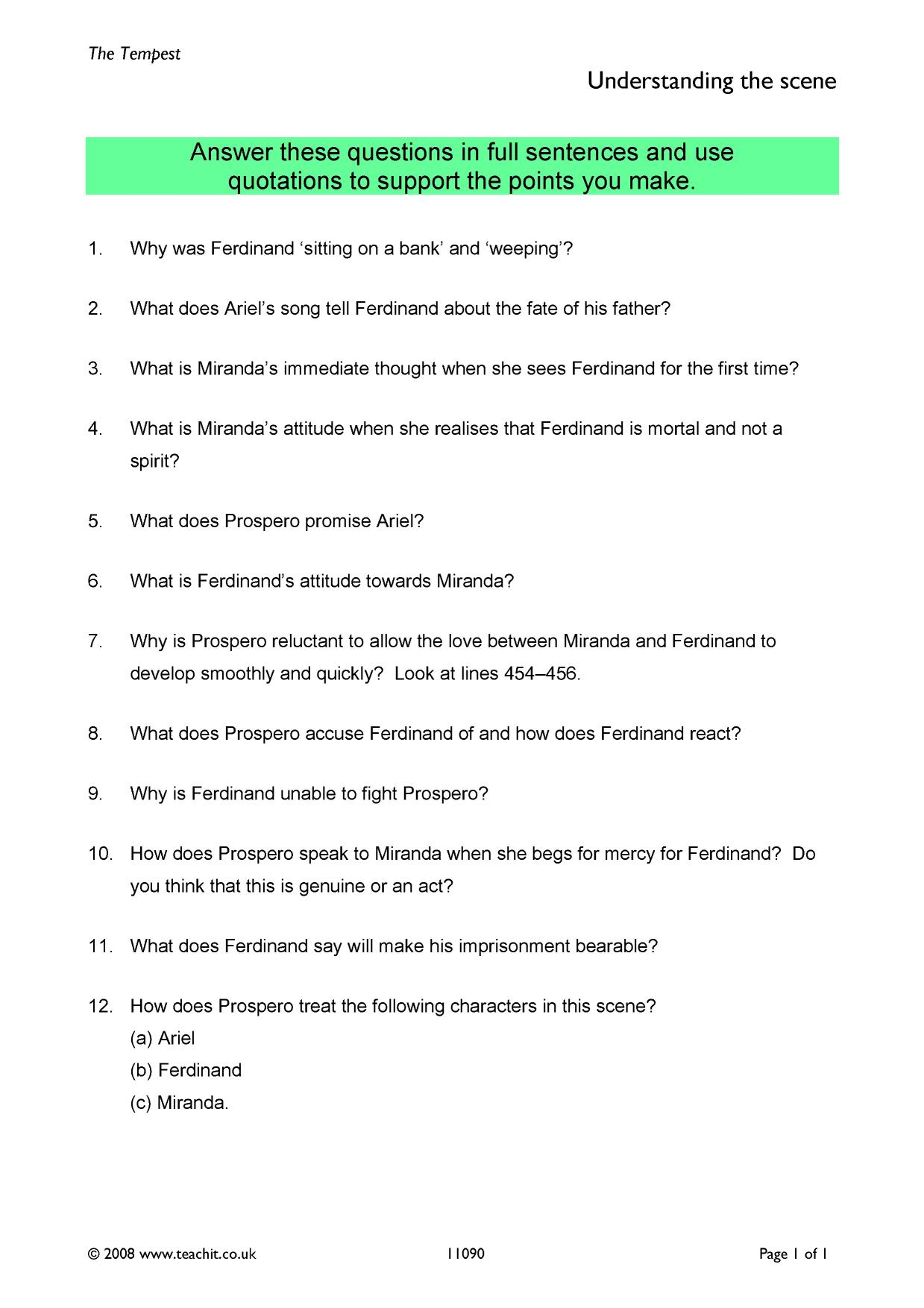 Inspirational act sample essay questions