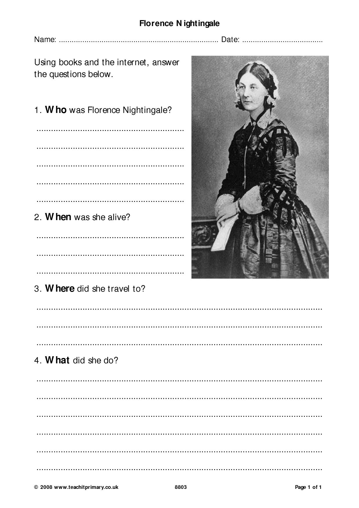 Famous People From The Past Search Results Teachit Primary