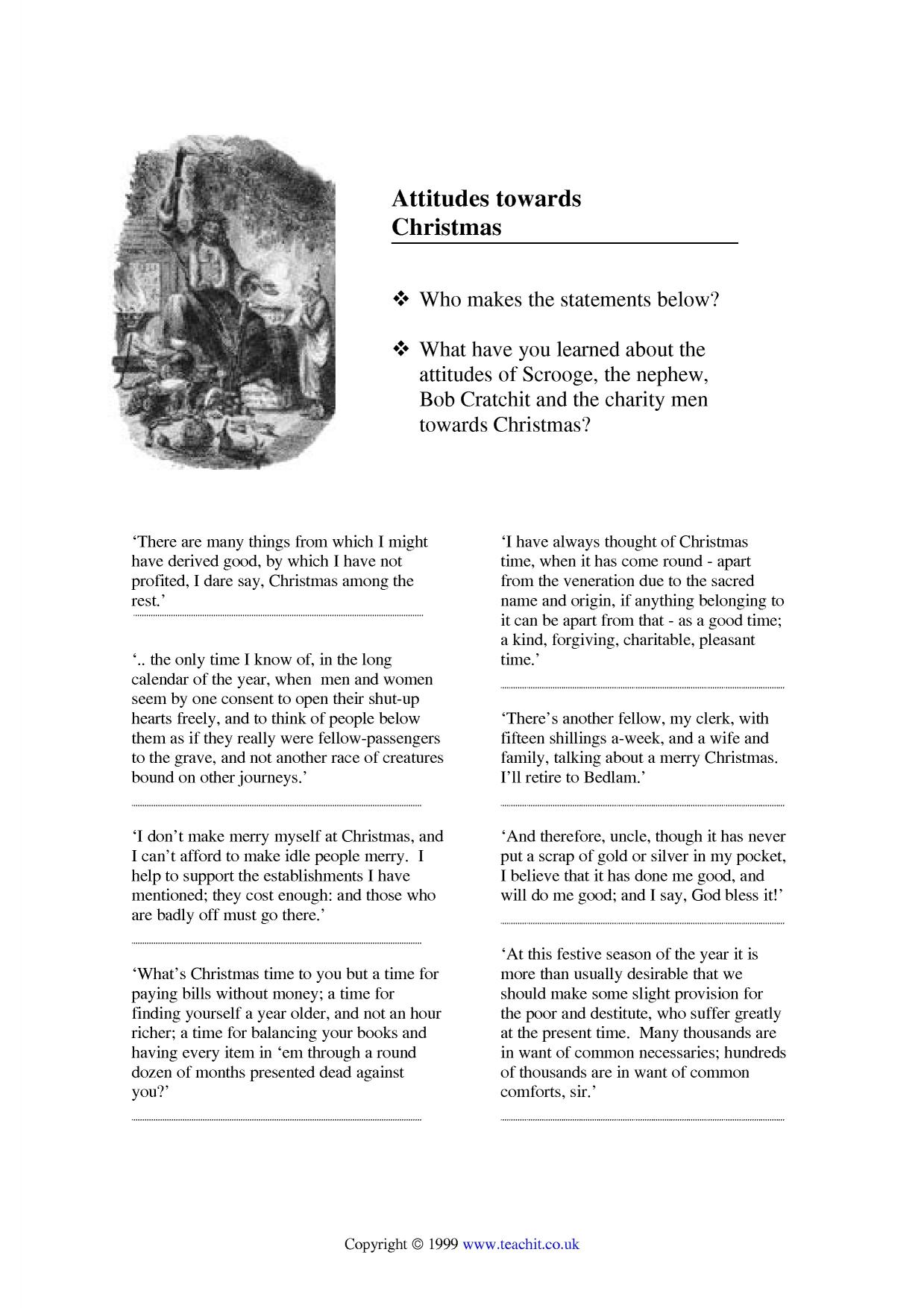 A Christmas Carol by Charles Dickens | KS3 Prose | Key Stage 3 | Resources