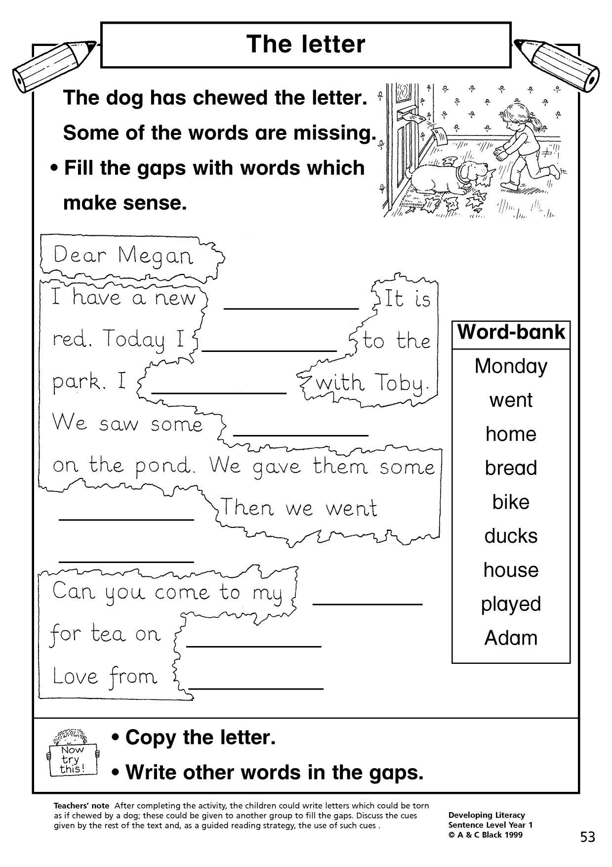 ks1 simple sentences teachit primary. Black Bedroom Furniture Sets. Home Design Ideas