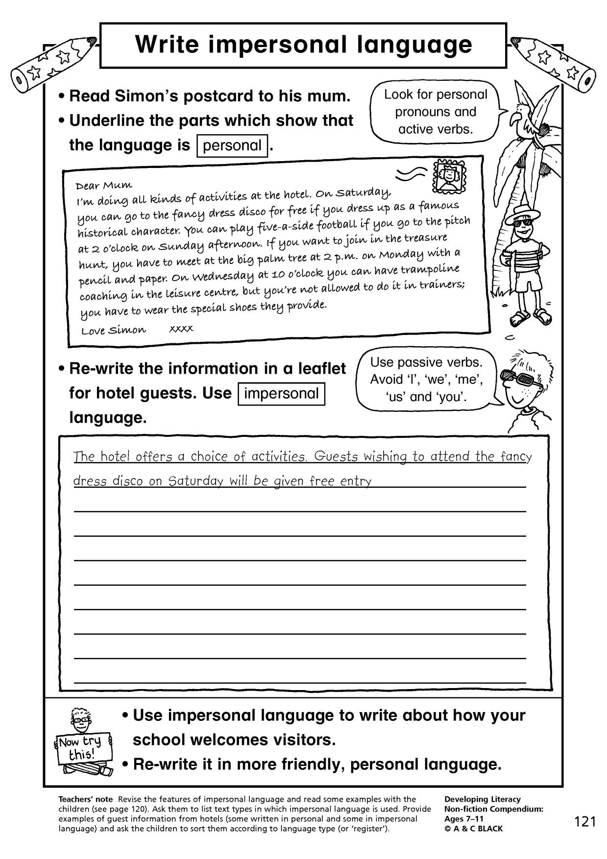 features of an encyclopedia entry ks2