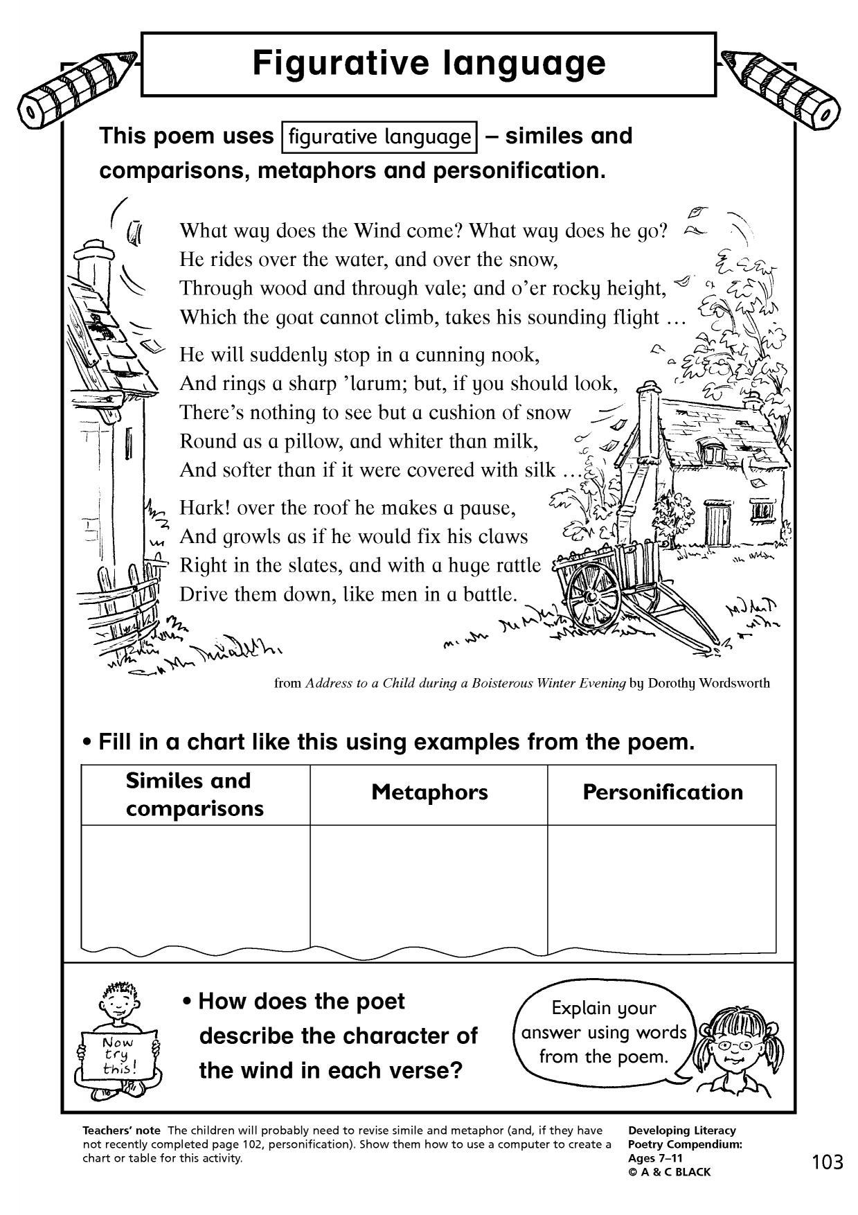 shakespeare's figurative language helps readers to Home best practices & interventions engaging students with figurative language in shakespeare's plays  reading poetry is generally not at the top of anyone's.
