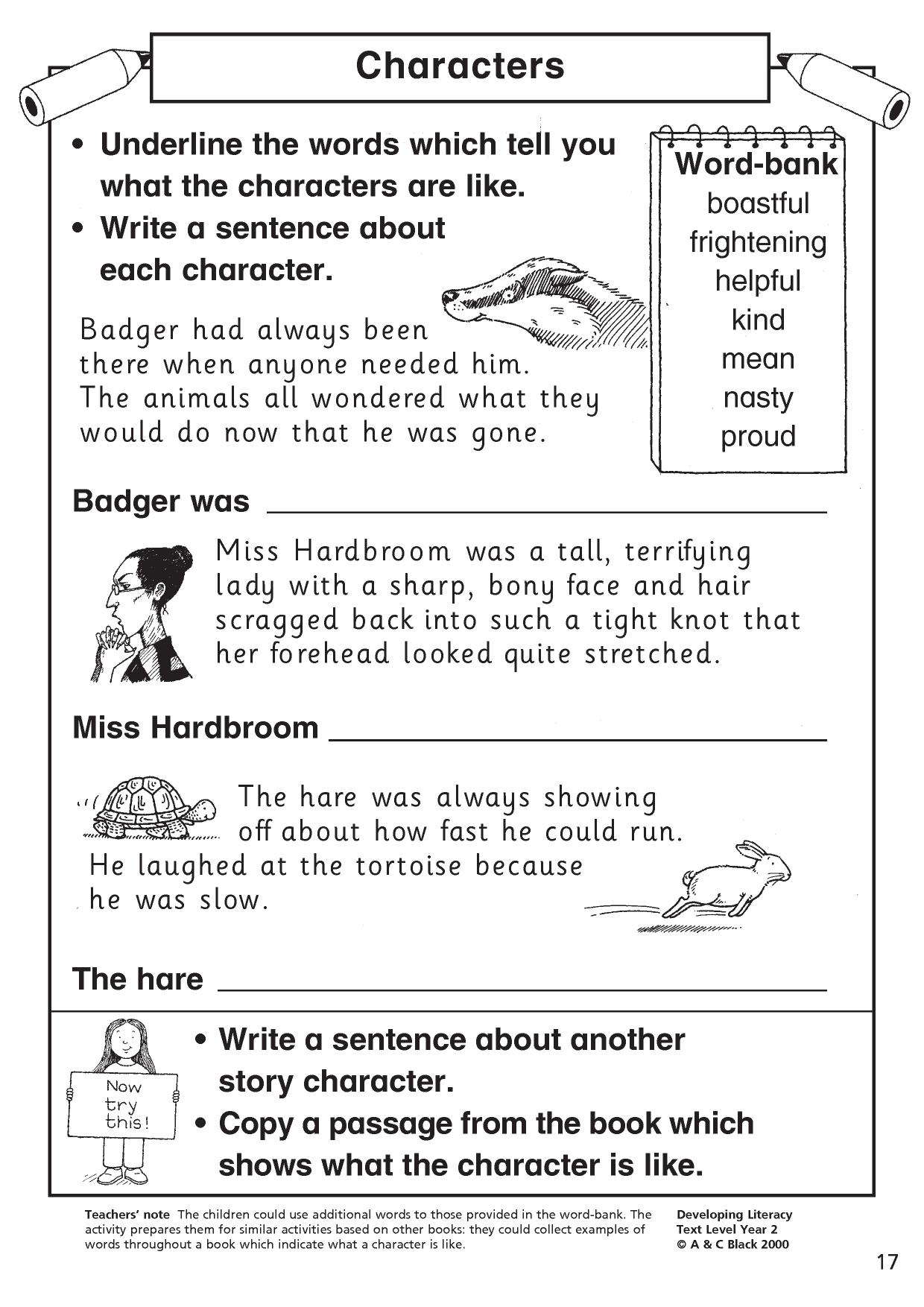 Reading comprehension teaching resources for FS, KS1 and