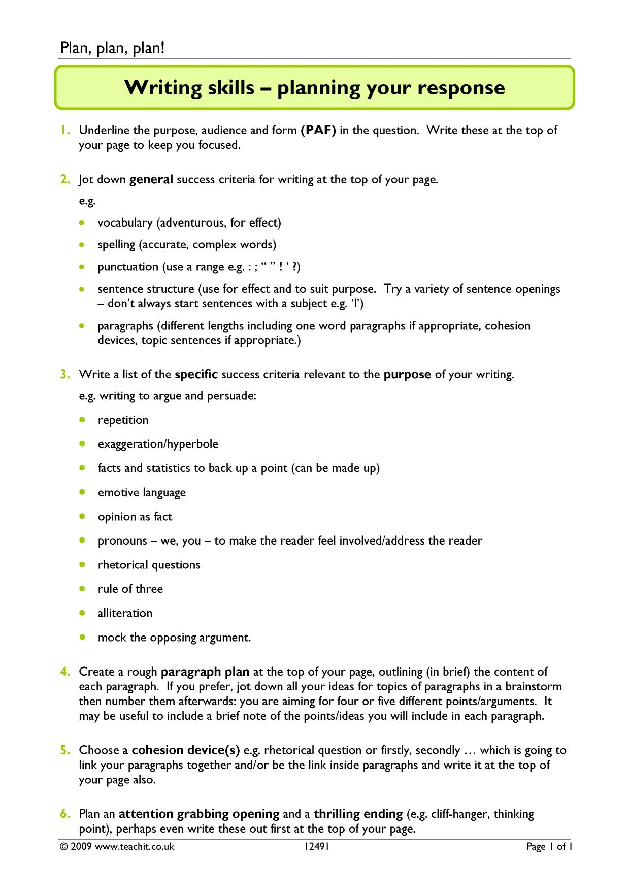 formal and narrative essays ks3 resources all 1 preview