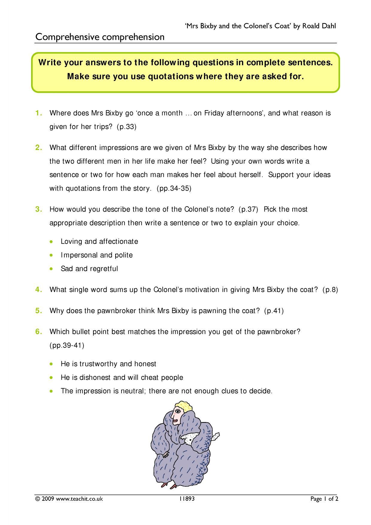 Aqa english language paper 1: practice exam