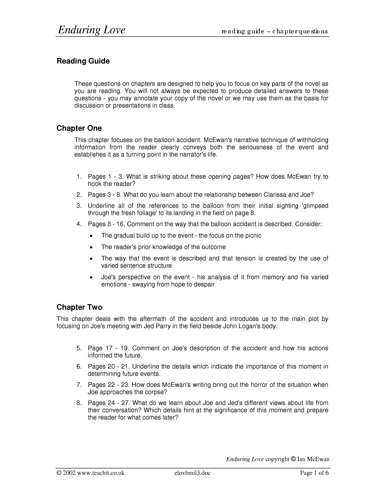 things fall apart reading guide answers