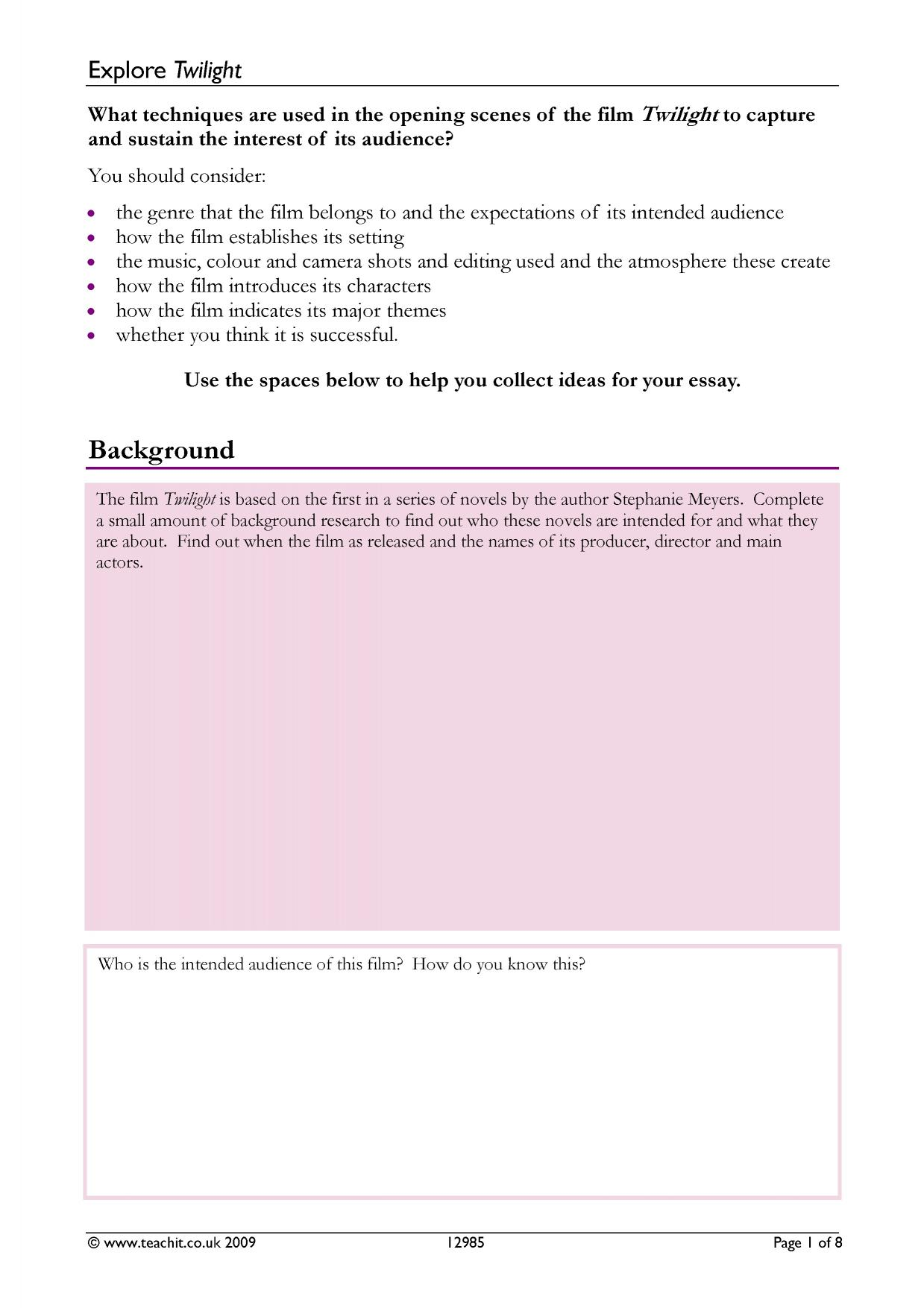 dbq essay 2009