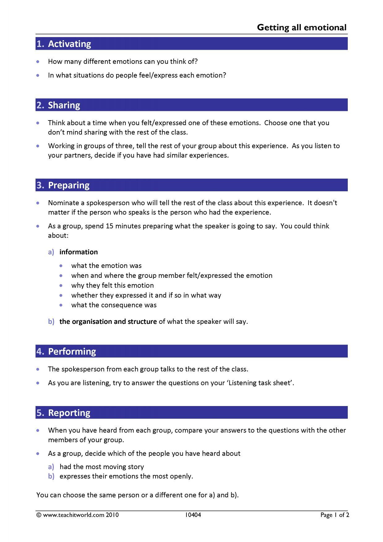 B1 level English language practice tests