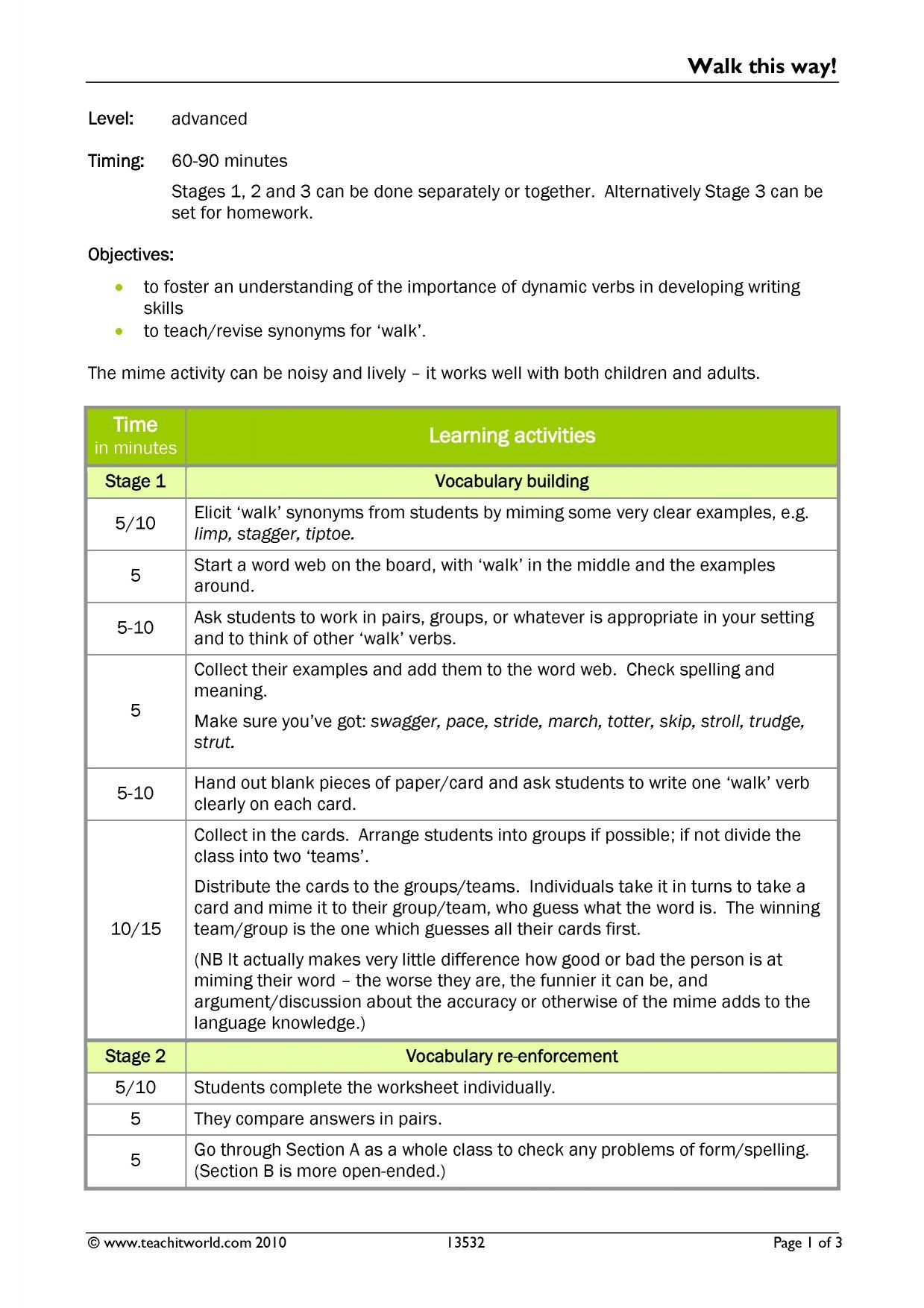 English language exam teaching resources - Teachit Languages
