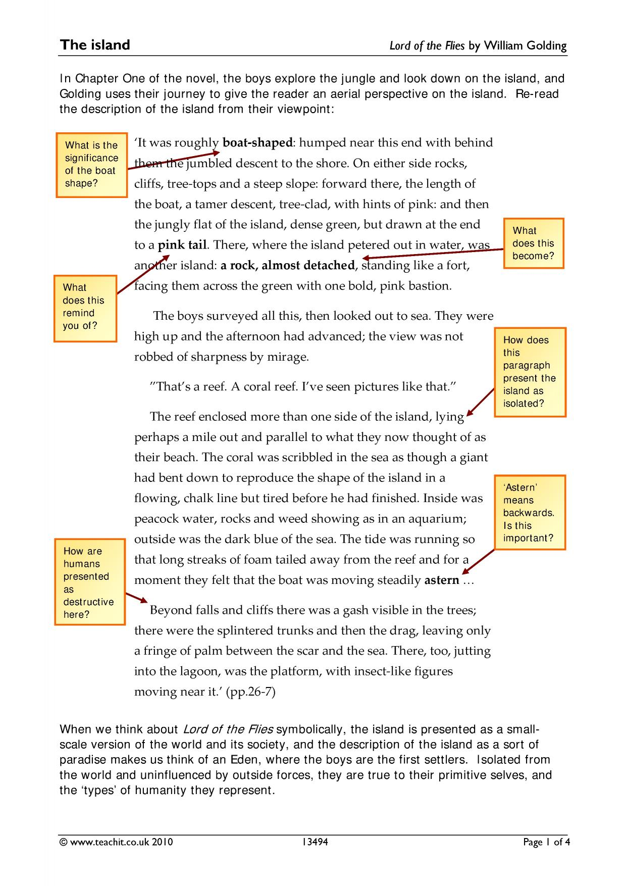 lord of the flies text response Write your response and use details from the text to support your ideas remember to use topic sentences and write your response using complete sentences [50 points] why did the lord of the flies speak to simon instead of any of the other boys.