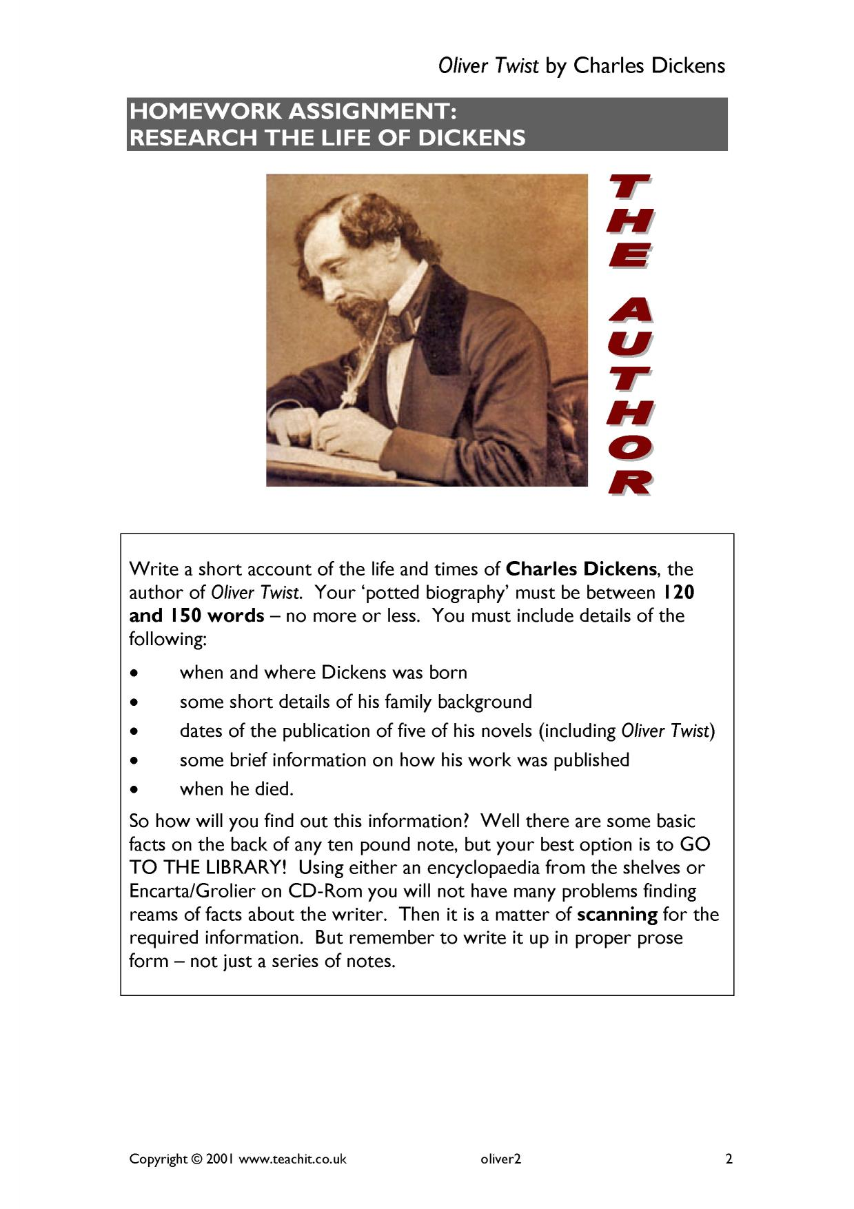 oliver twist by charles dickens ks3 prose key stage 3 resources 1 preview