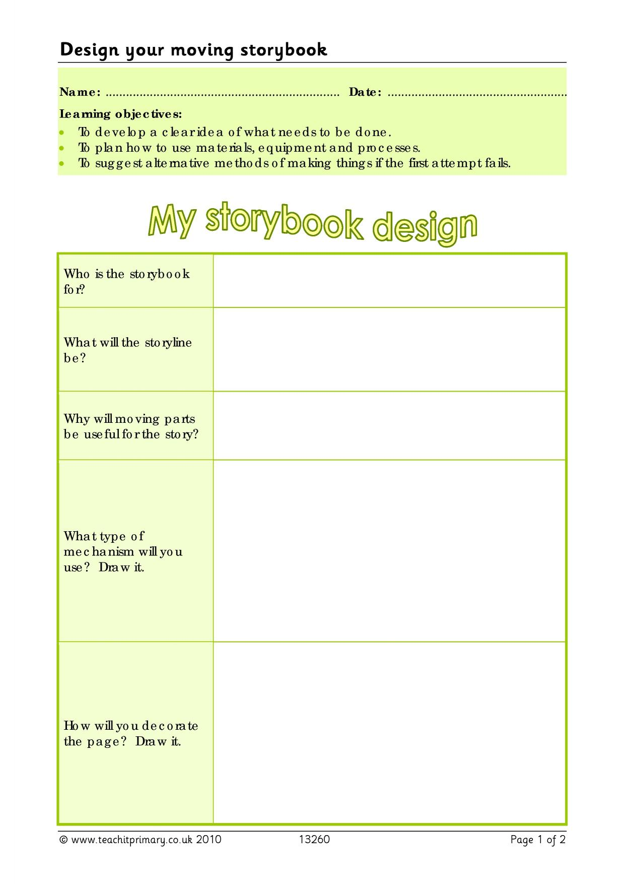 Primary design technology resources: DT teaching resources