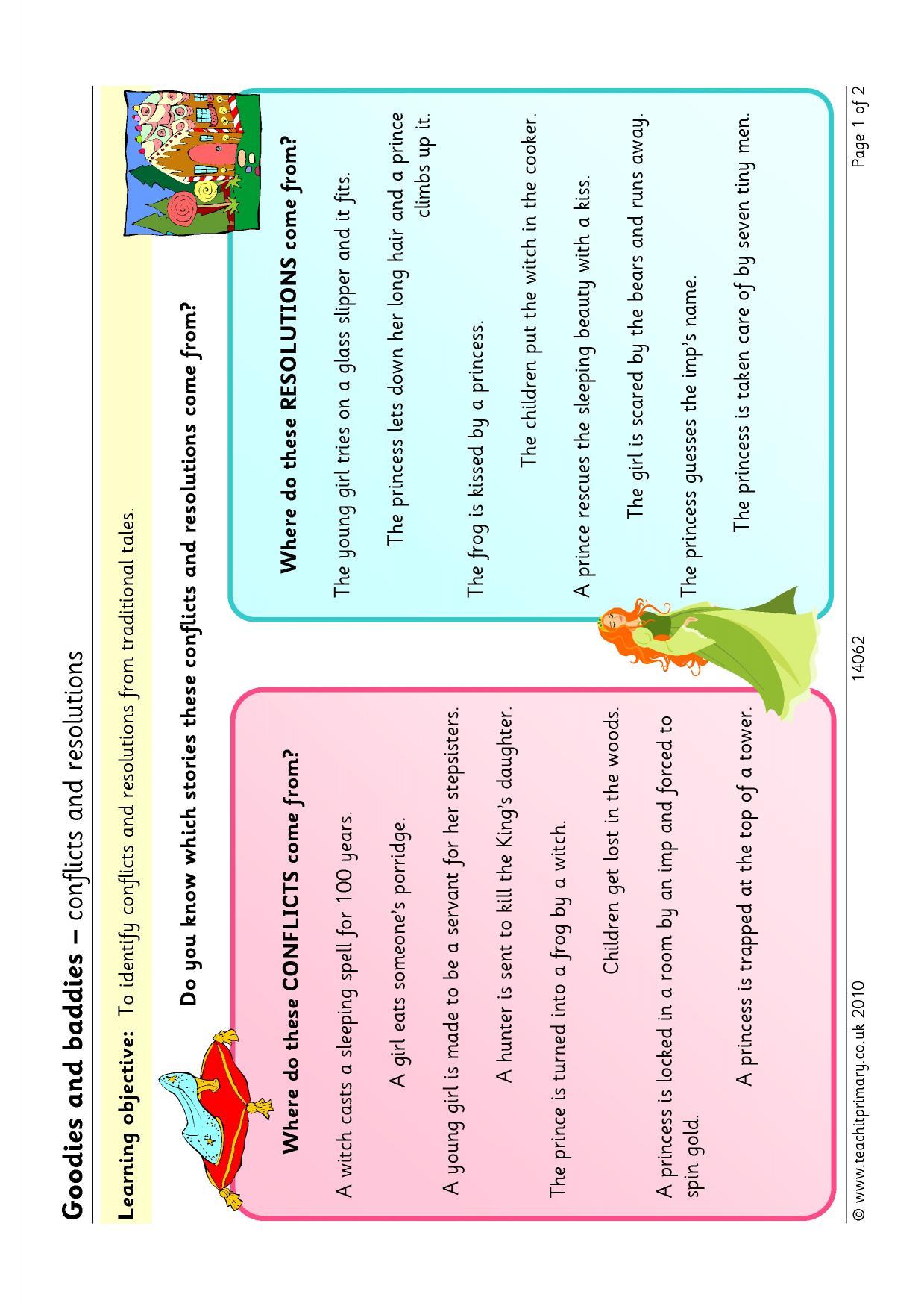 EYFS | KS1 | KS2 | Traditional stories | Teachit Primary
