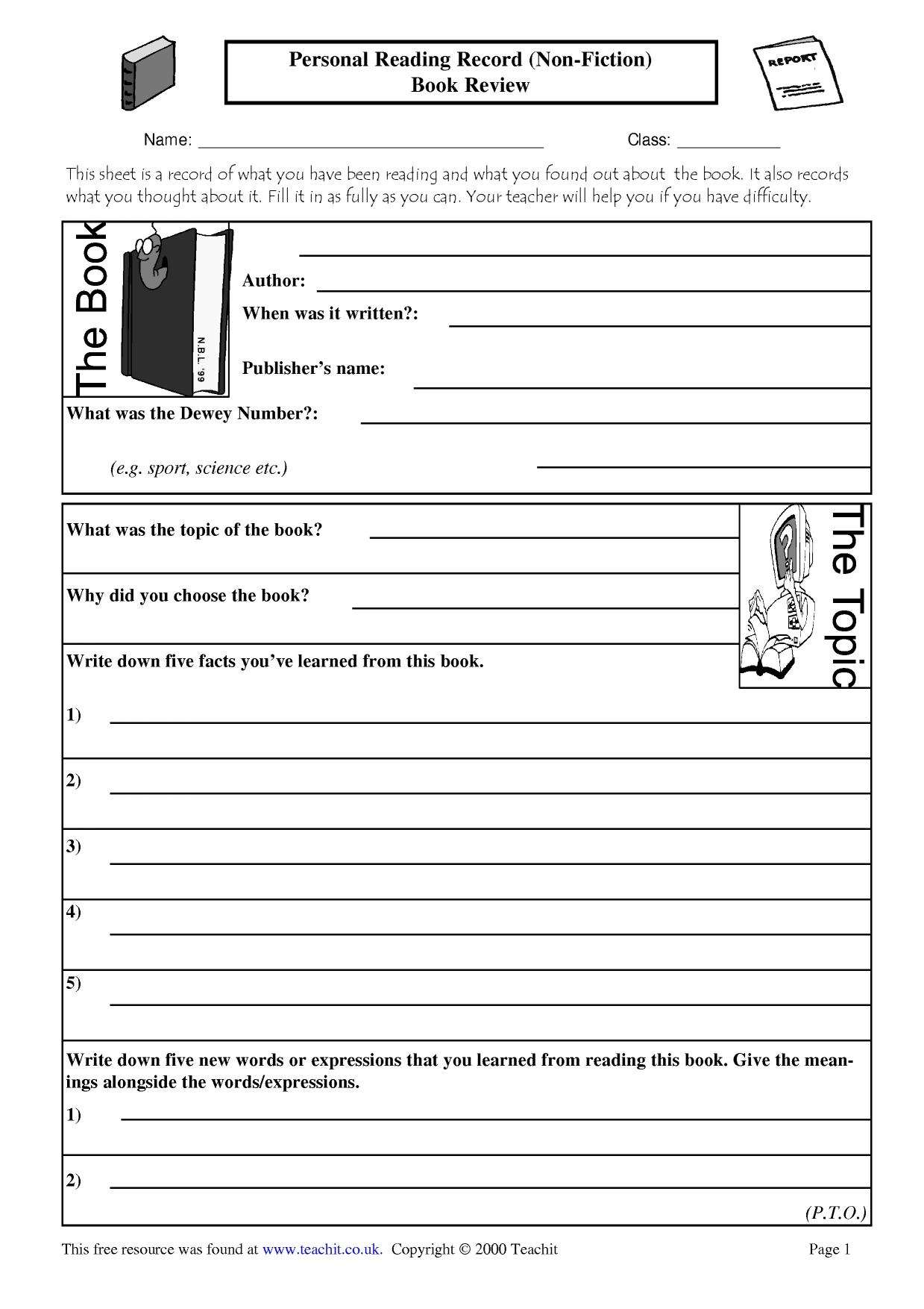 100 Book Report Template Grade 3 Essays That Will Get You