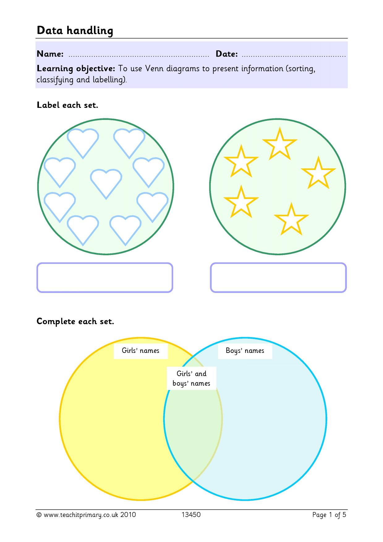 Persuasive Writing Teachit Primary Venn Diagram For Smartboard 5 Preview