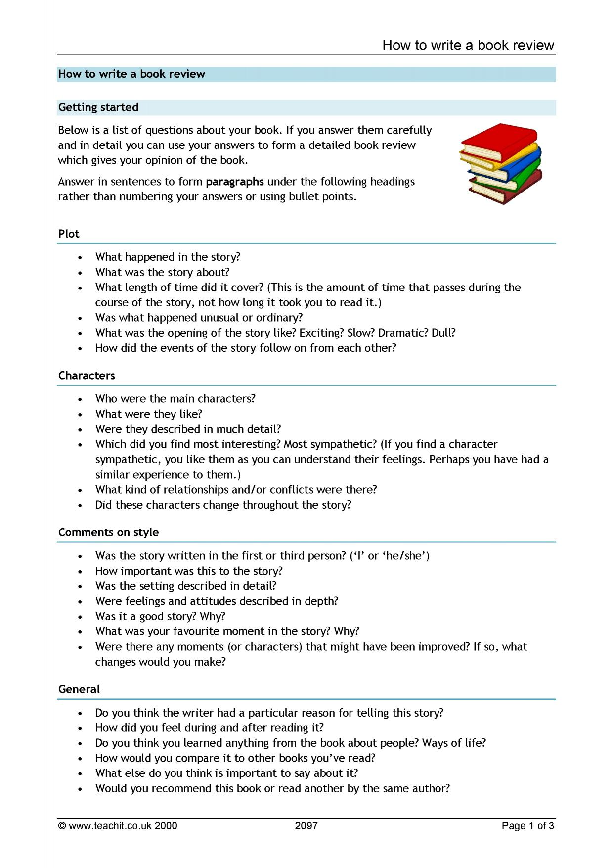 what does a book report need to include Writing a list of references  you need a list of materials that you have used or  if you do not know the author or the date and it does not have a clear.