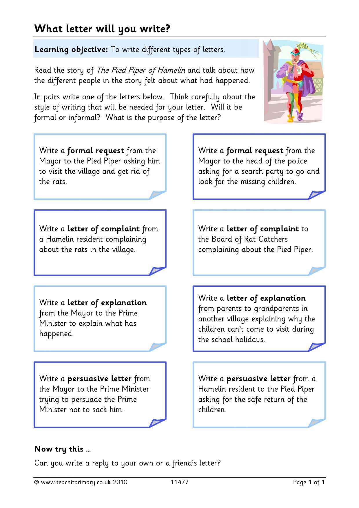 Ks2 letter writing teachit primary 2 preview stopboris Images