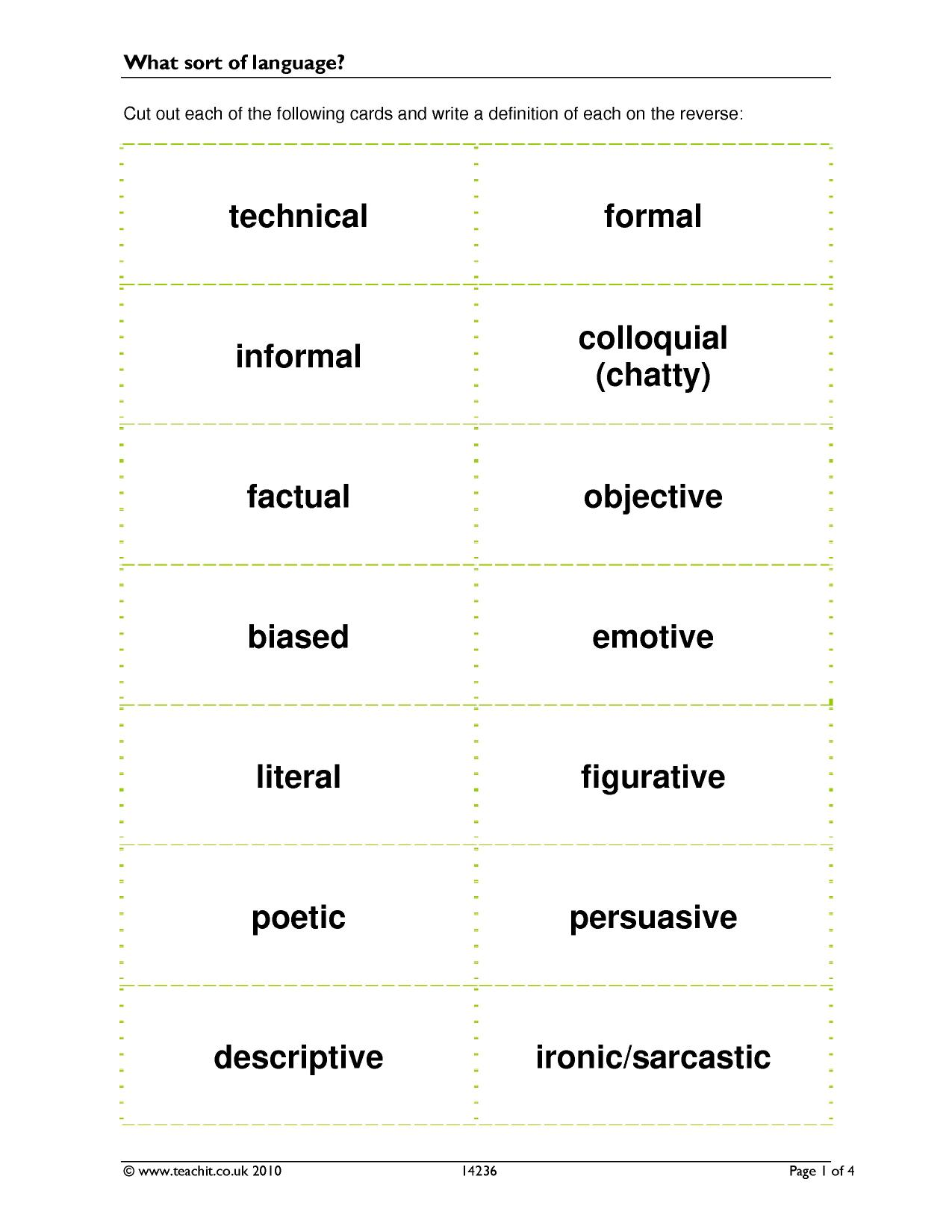grammar terminology Grammar: common terms  common grammar terms to proofread your work, you need to be able to identify different parts of a sentence below are.