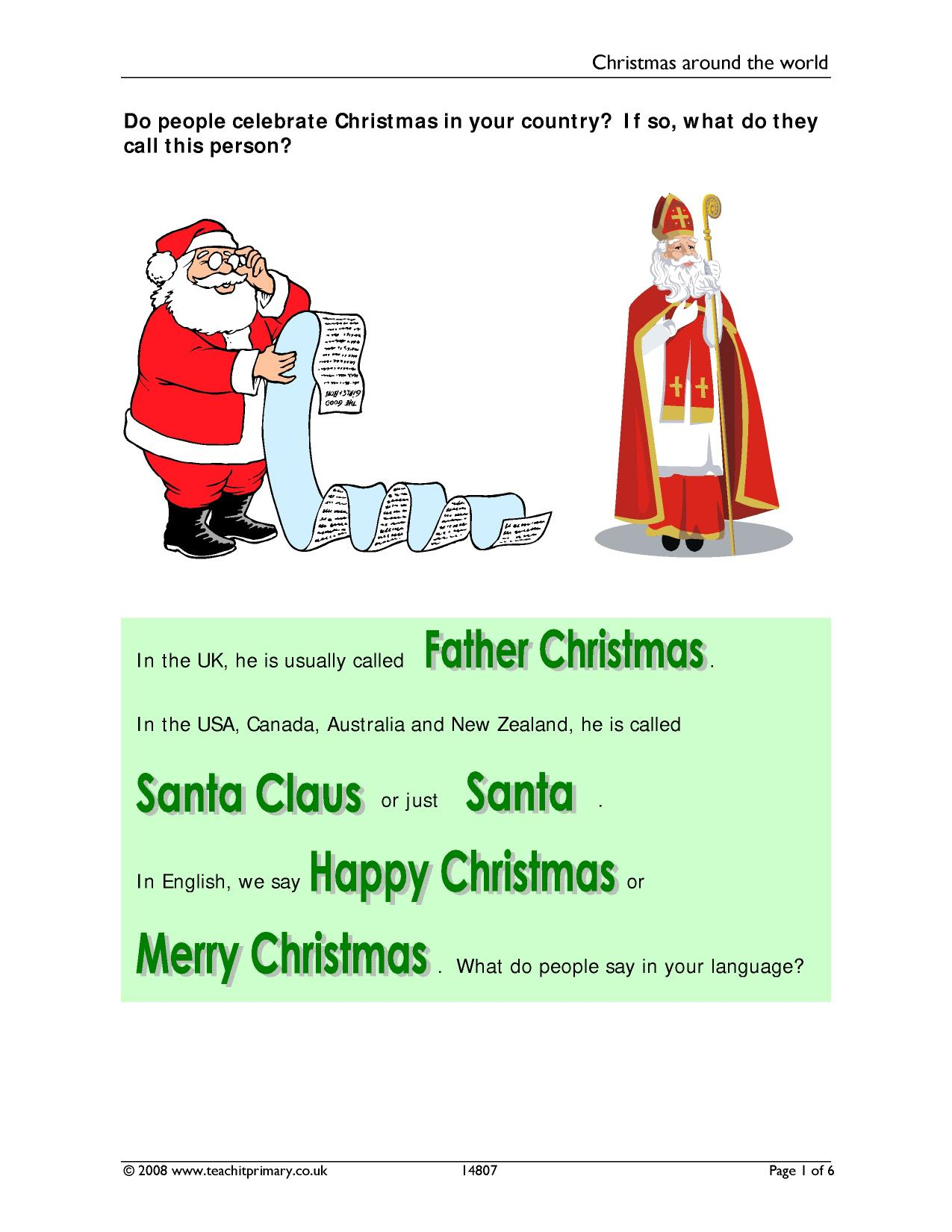 resource thumbnail - How Do You Say Merry Christmas In Australia