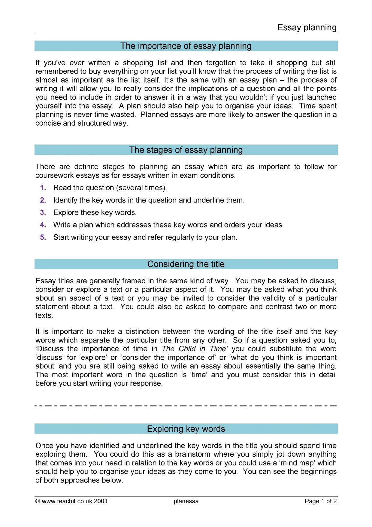 Search Essays In English  Preview Healthy Lifestyle Essay also A Modest Proposal Essay Ks Skills  Essay Writing  Teachit English Topics For English Essays