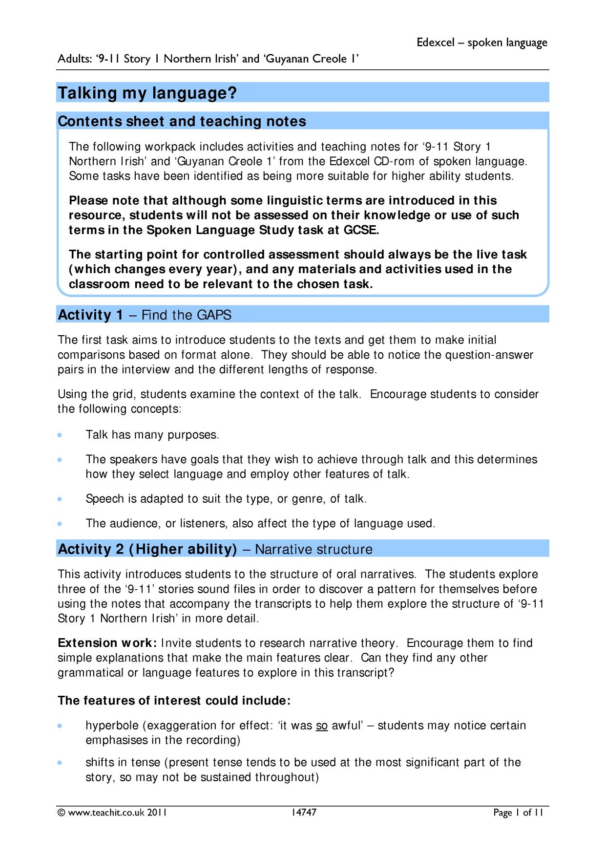 idiolect essay aqa My essay on spoken language is on idiolect language and slang which is used at schools, home and public and you must describe the ways of using spoken lan.