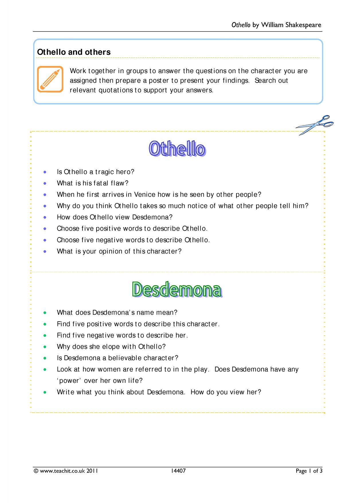 othello a tragic hero essay Recent posts othello tragic hero essay zaptv: teacher's guide to creative writing child growth & development- an educational program on careworld tv.