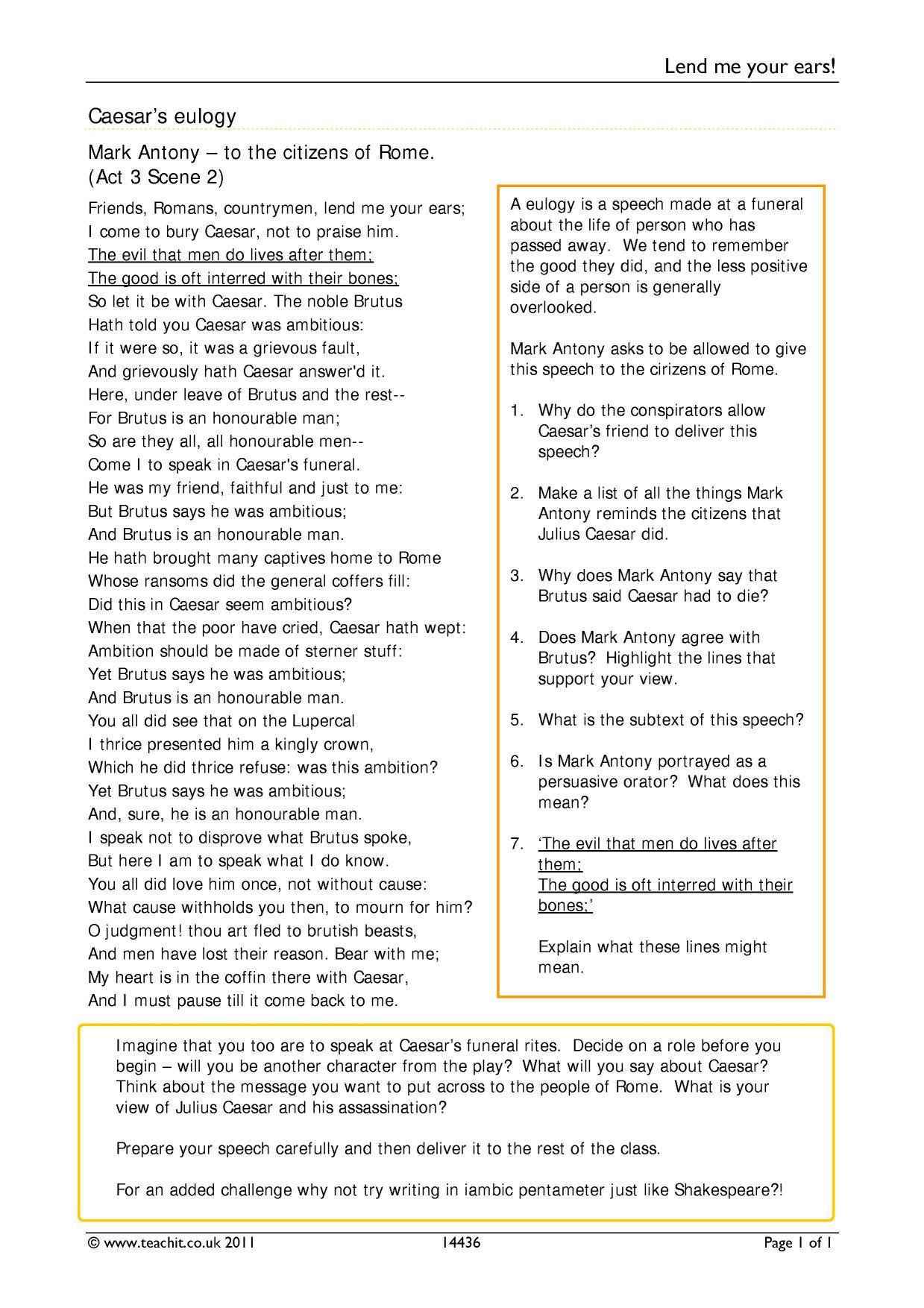 ks julius caesar teachit english 1 preview