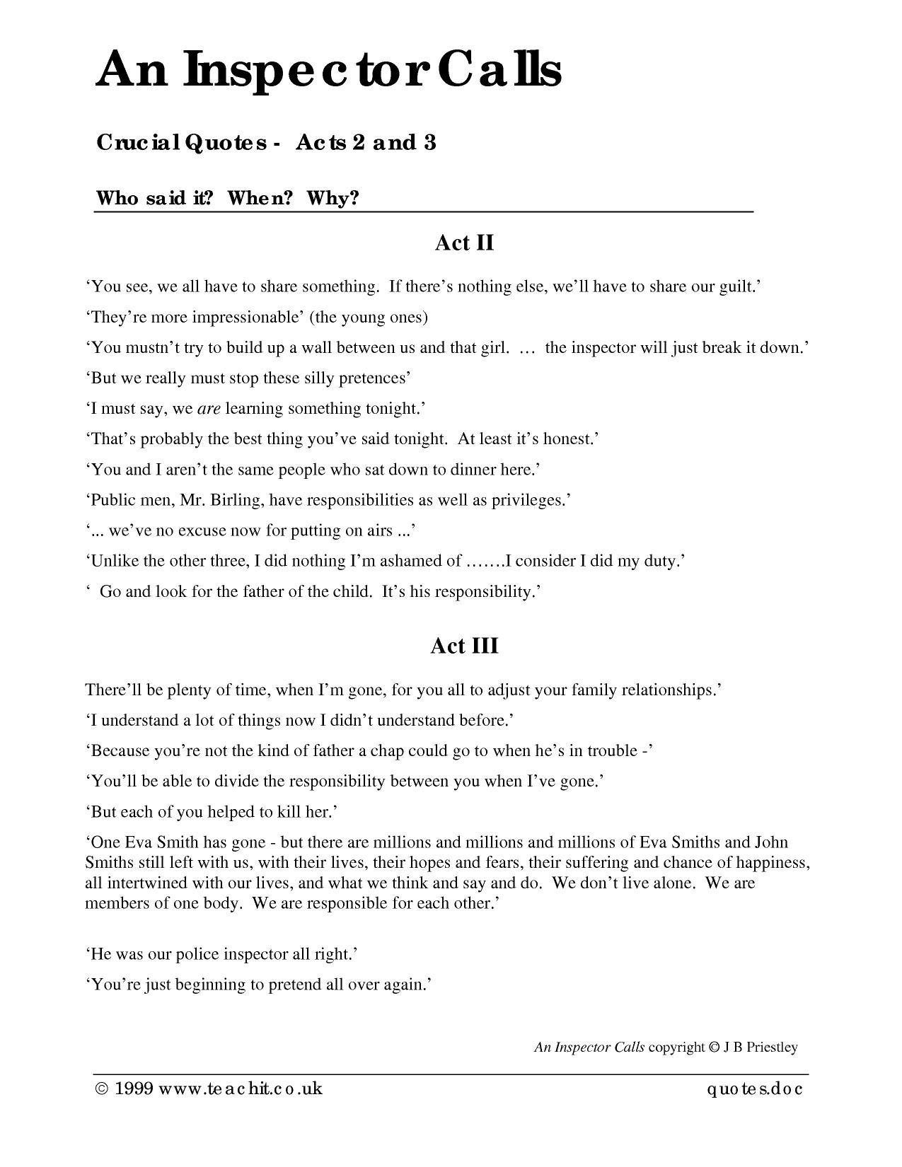 an essay on drama