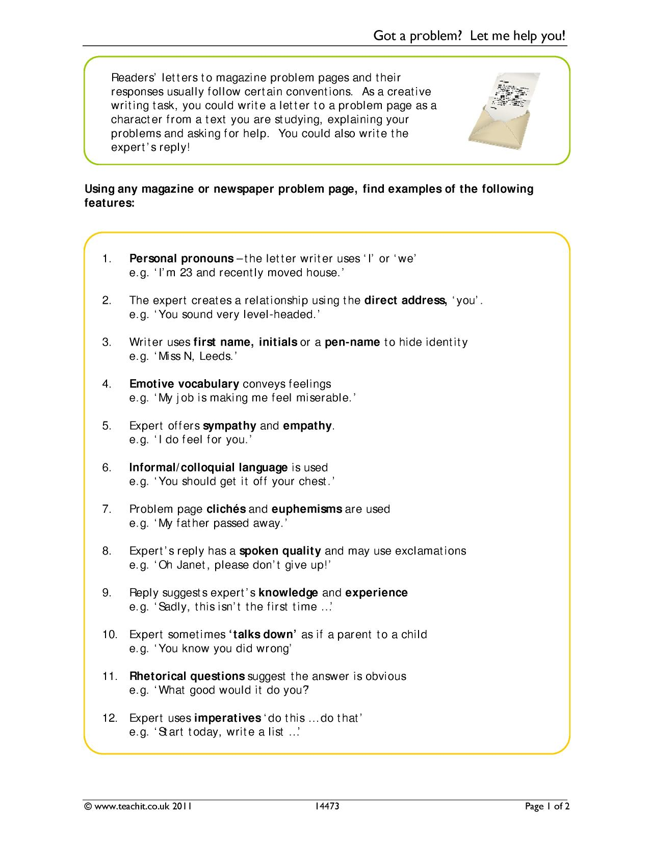 Gce n level english letter writing format