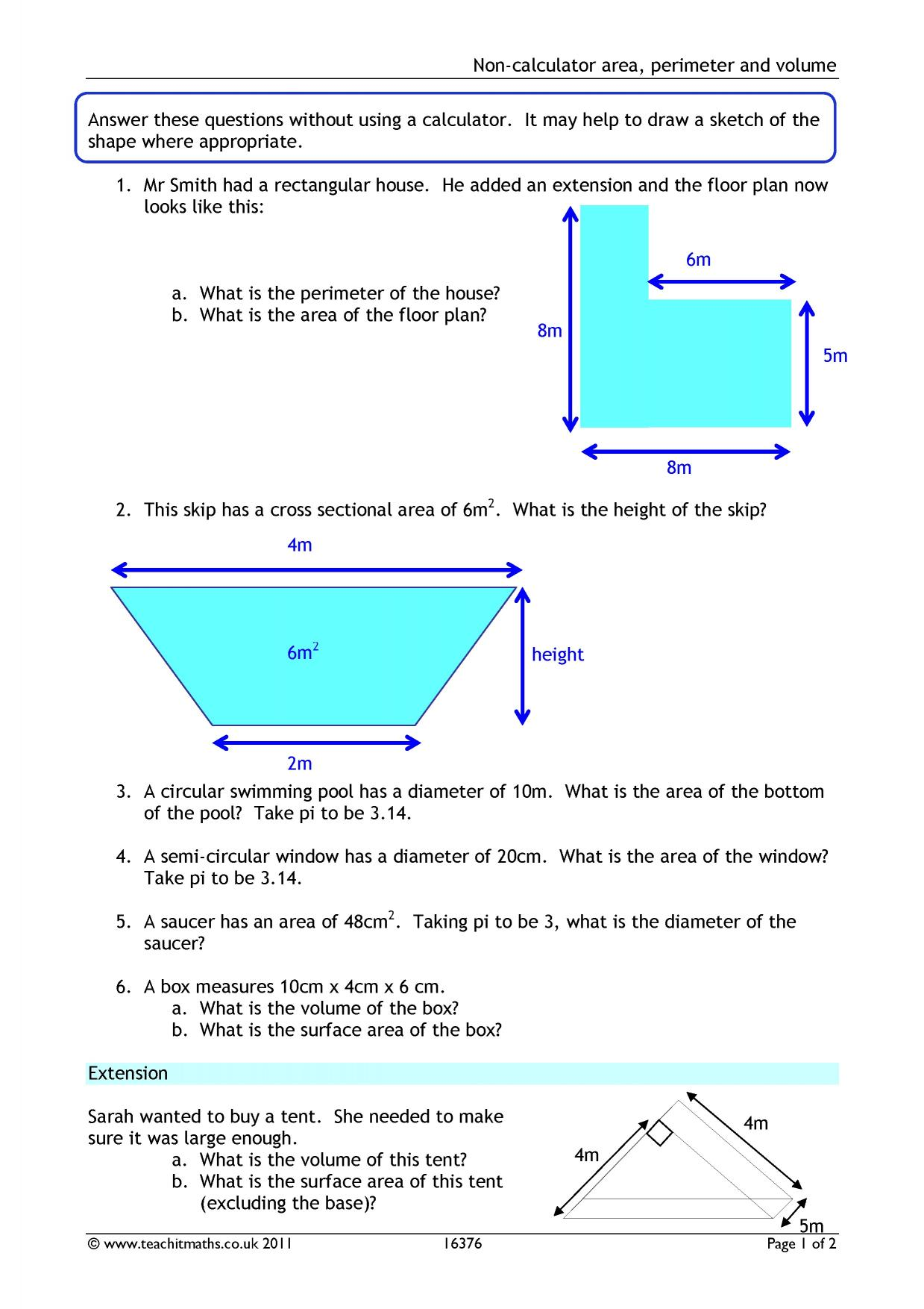 Worksheet Works Cursive Word Volume And Surface Area  Teachit Maths Qualitative Vs Quantitative Worksheet Pdf with Mass Mass Problems Worksheet Answers  Preview Gravity Worksheet