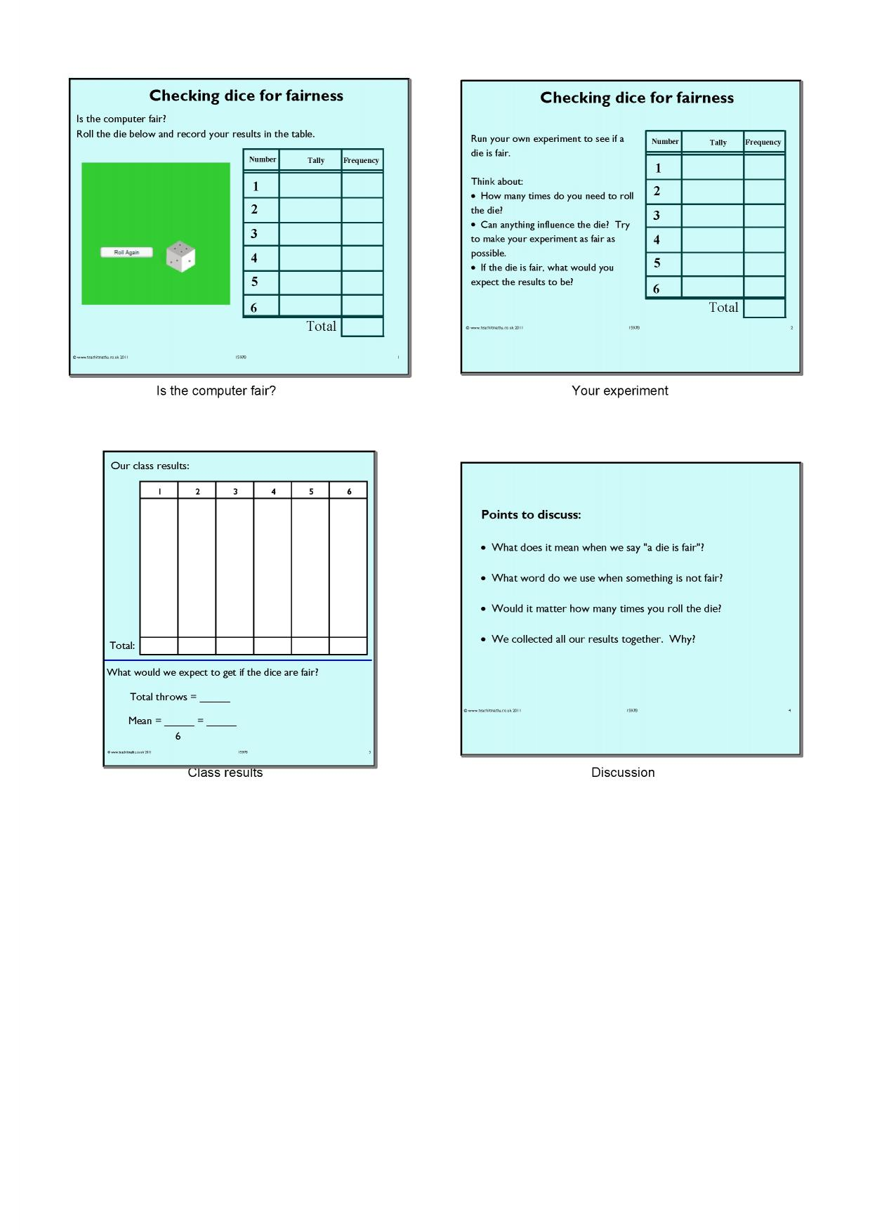 notebook - search results - Teachit Maths