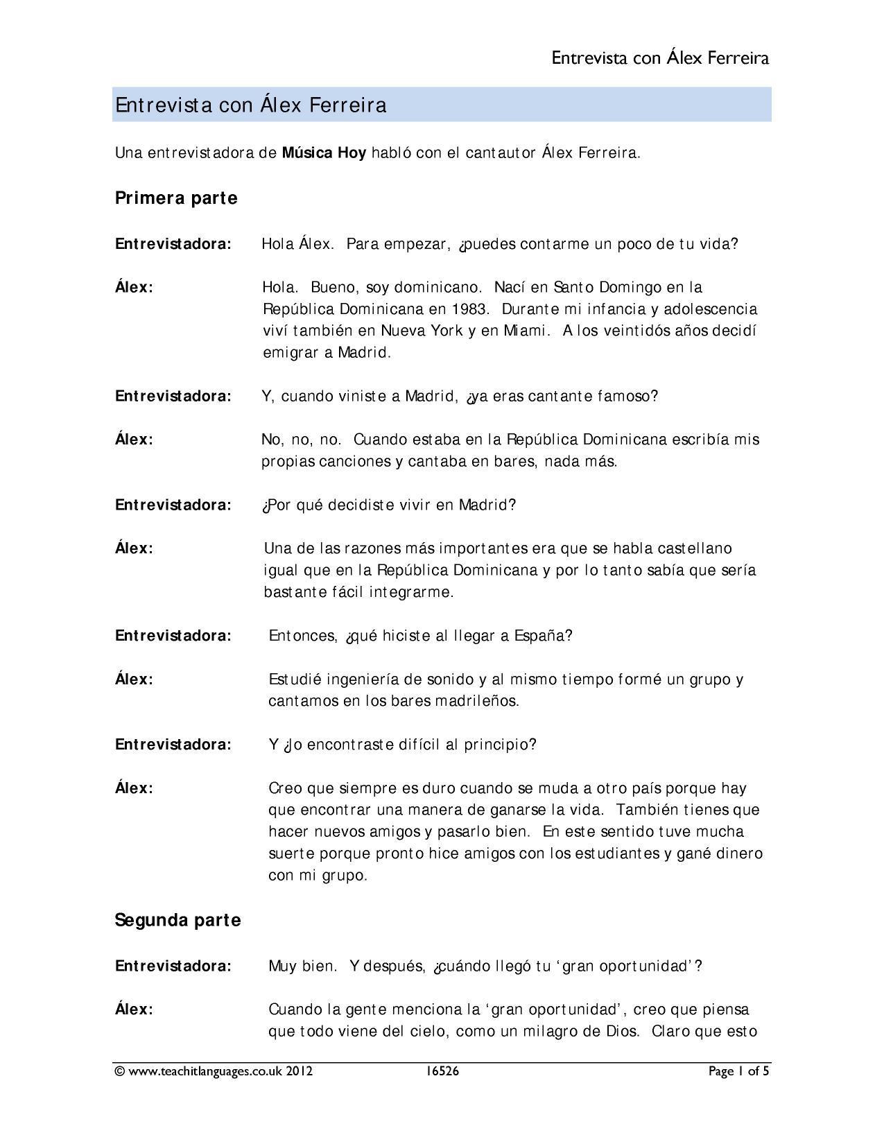 Spanish Revision Ks4 Teachit Languages
