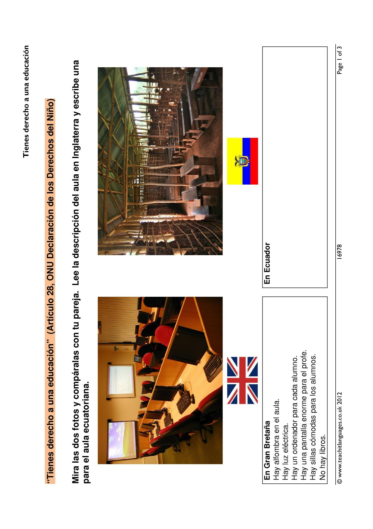 ks3 school and daily routine teachit languages. Black Bedroom Furniture Sets. Home Design Ideas