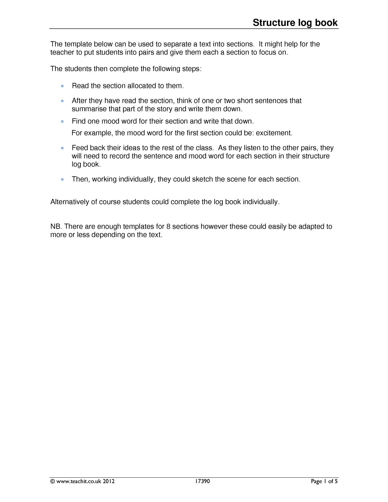 Resource templates - Teachit English