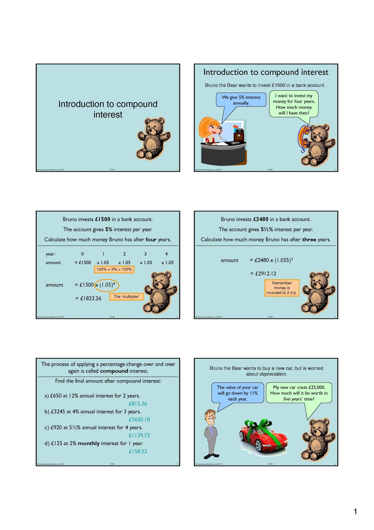 powerpoint - search results - Teachit Maths