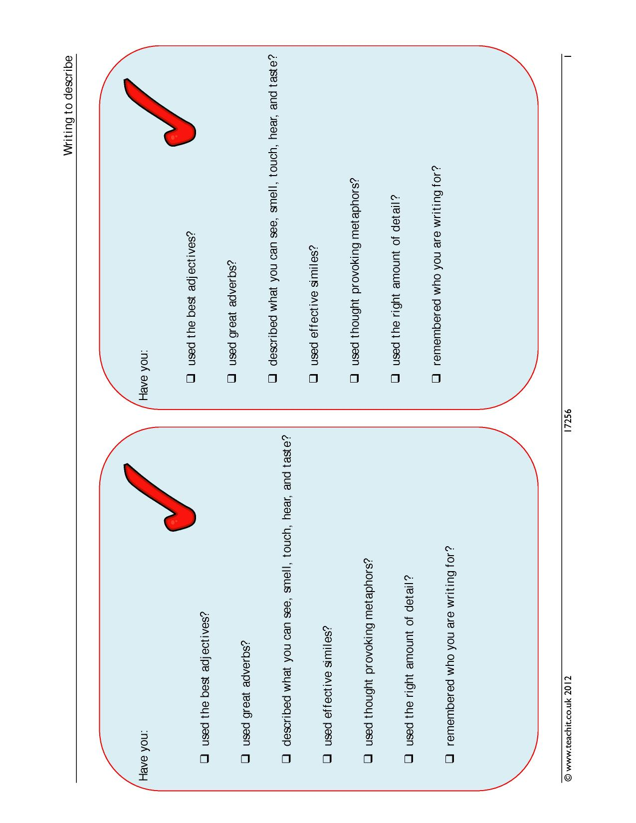 writing to inform explain and describe essay Home gcse  english  vocabulary for writing to inform, explain, describe vocabulary for writing to inform, explain, describe vocab for english language, writing triplet: inform, explain, describe.