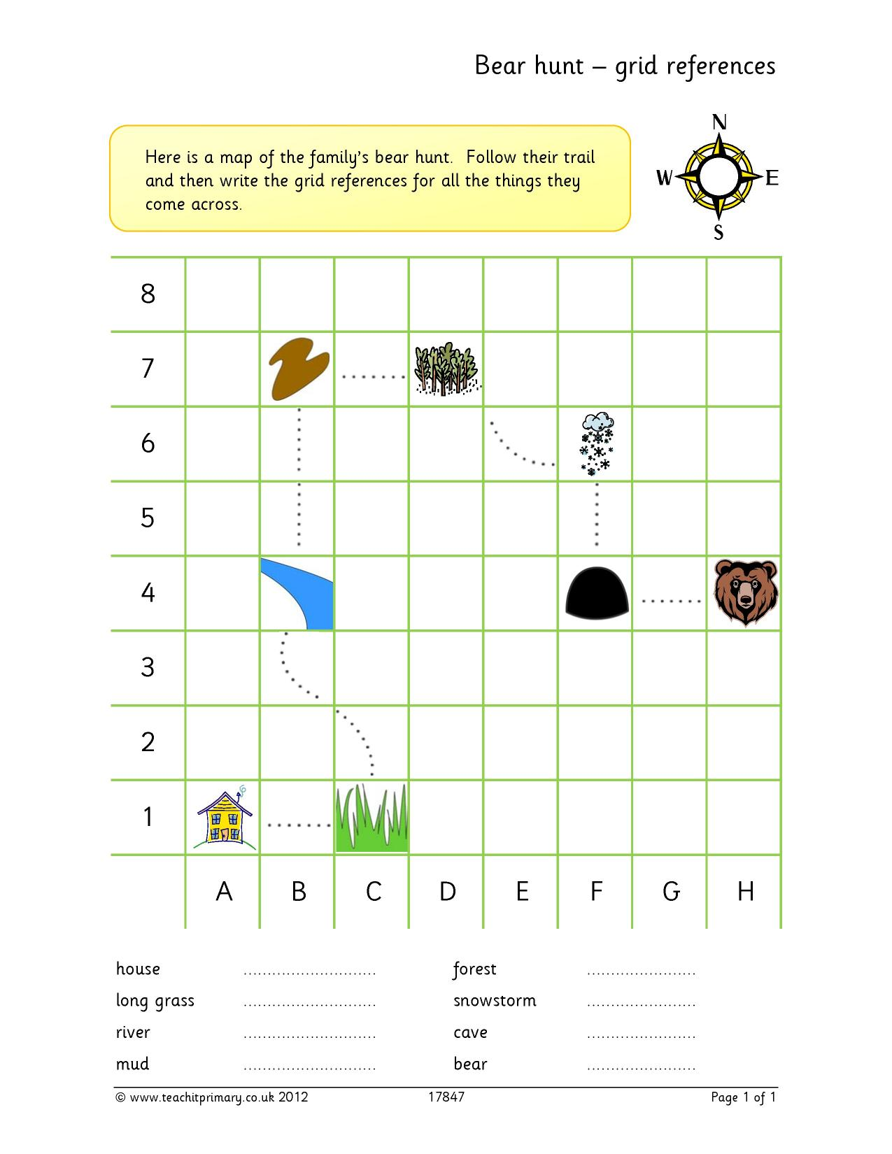 Geography | Mapping skills and fieldwork | Teachit Primary