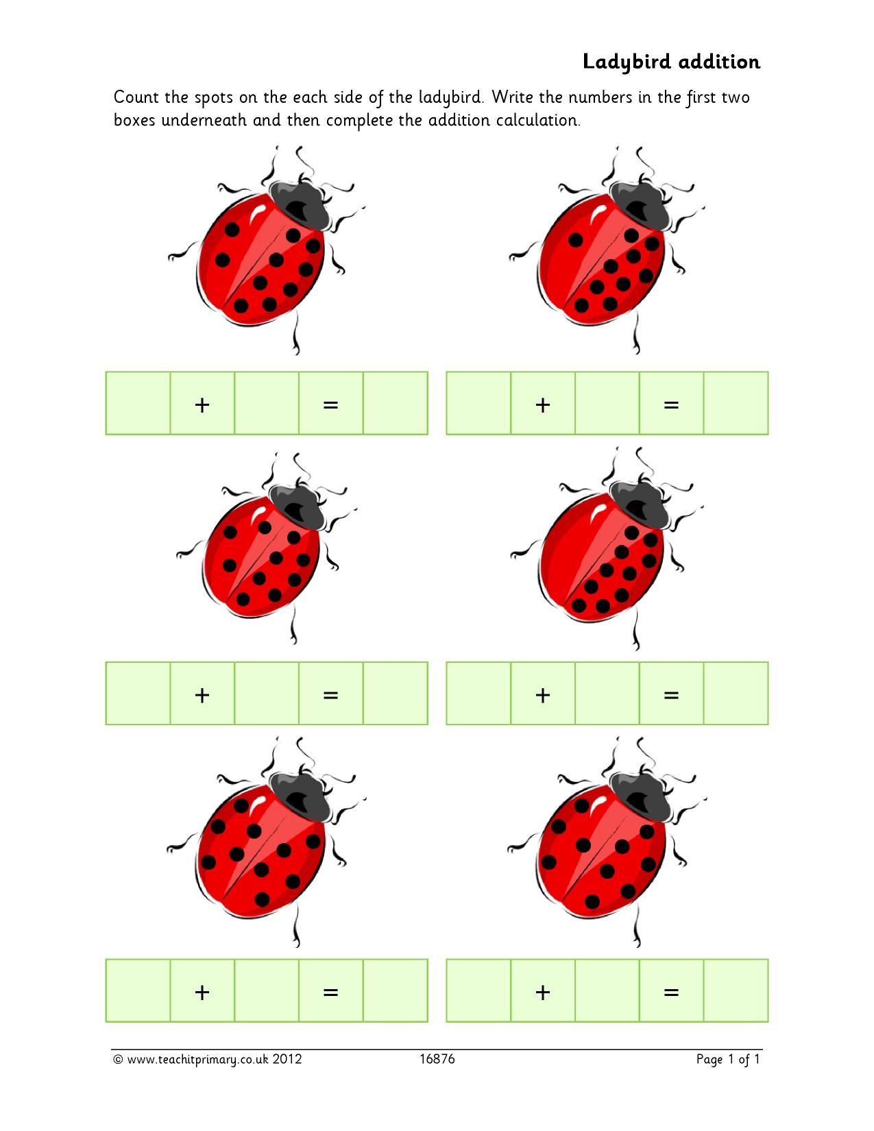 Ks2 Addition And Subtraction The Basics Teachit Primary