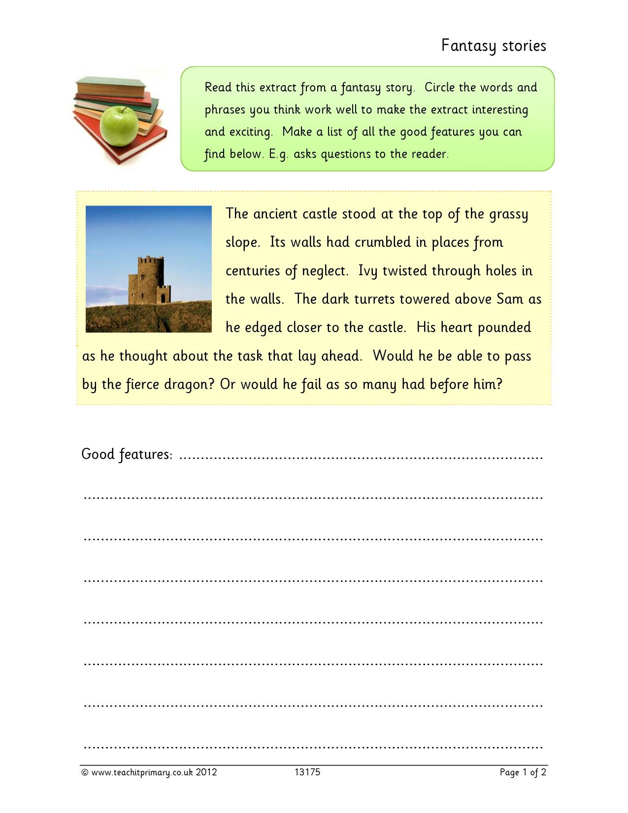 Writing a mystery story ks2 geography