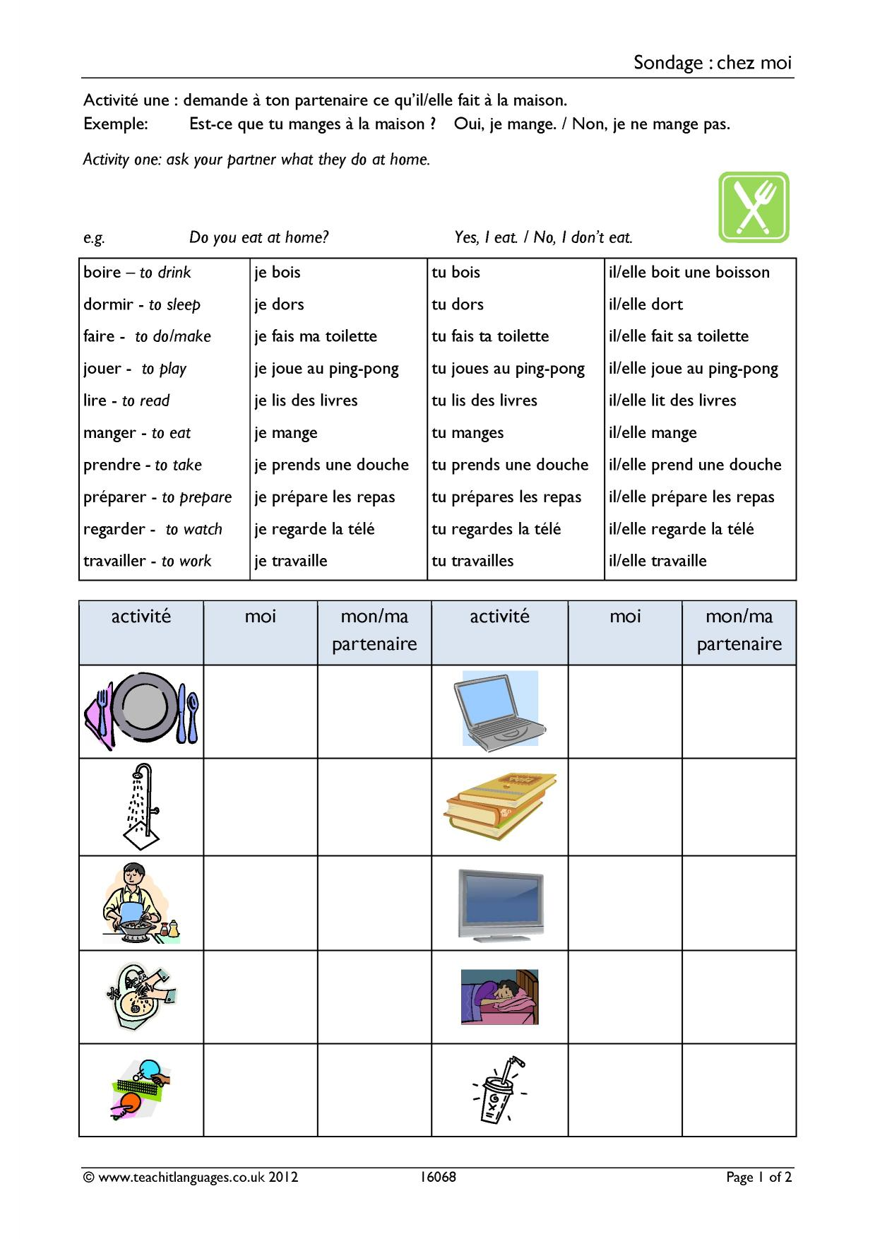 french essay school routine Essay on daily routine at home in the morning—i am a student so i spend the day in a simple way i get up from bed early in the morning first, i do my morning duties.