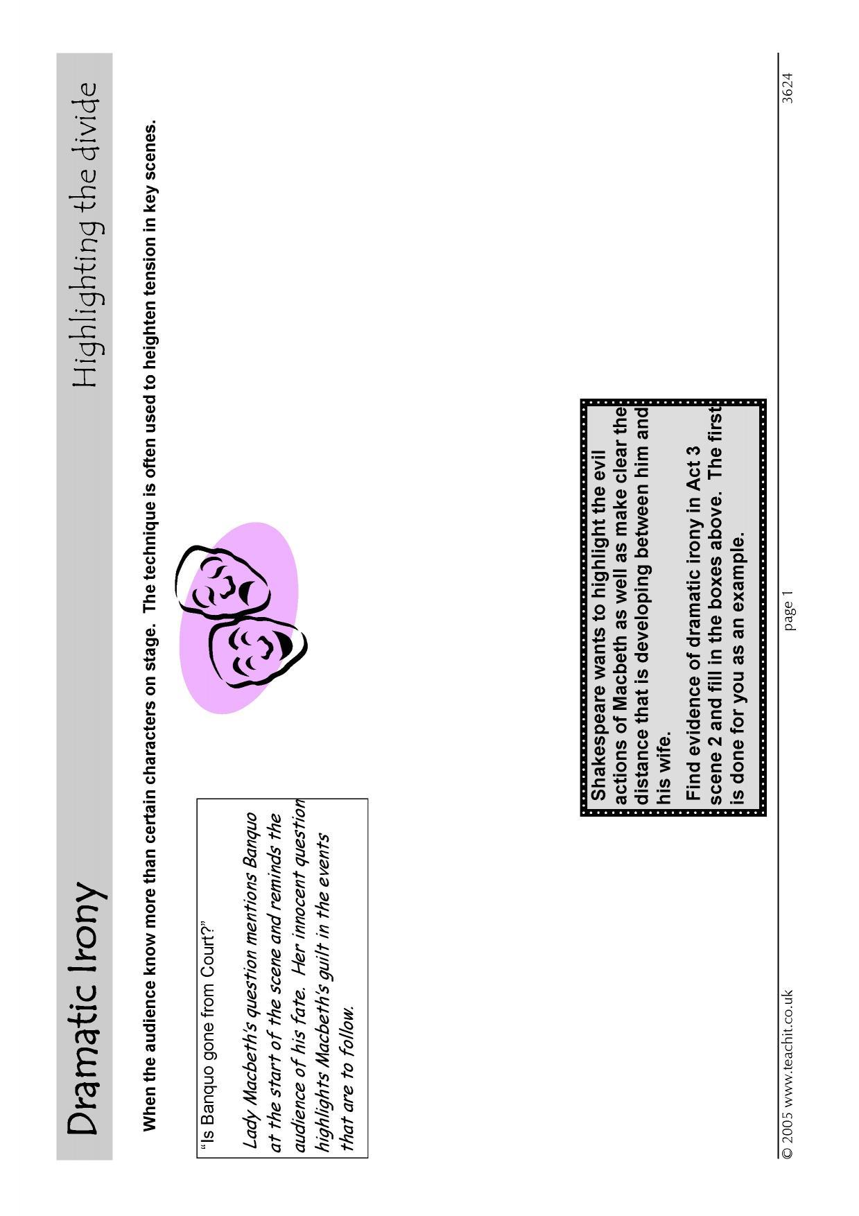 Ks4 macbeth act 3 teachit english 0 preview buycottarizona