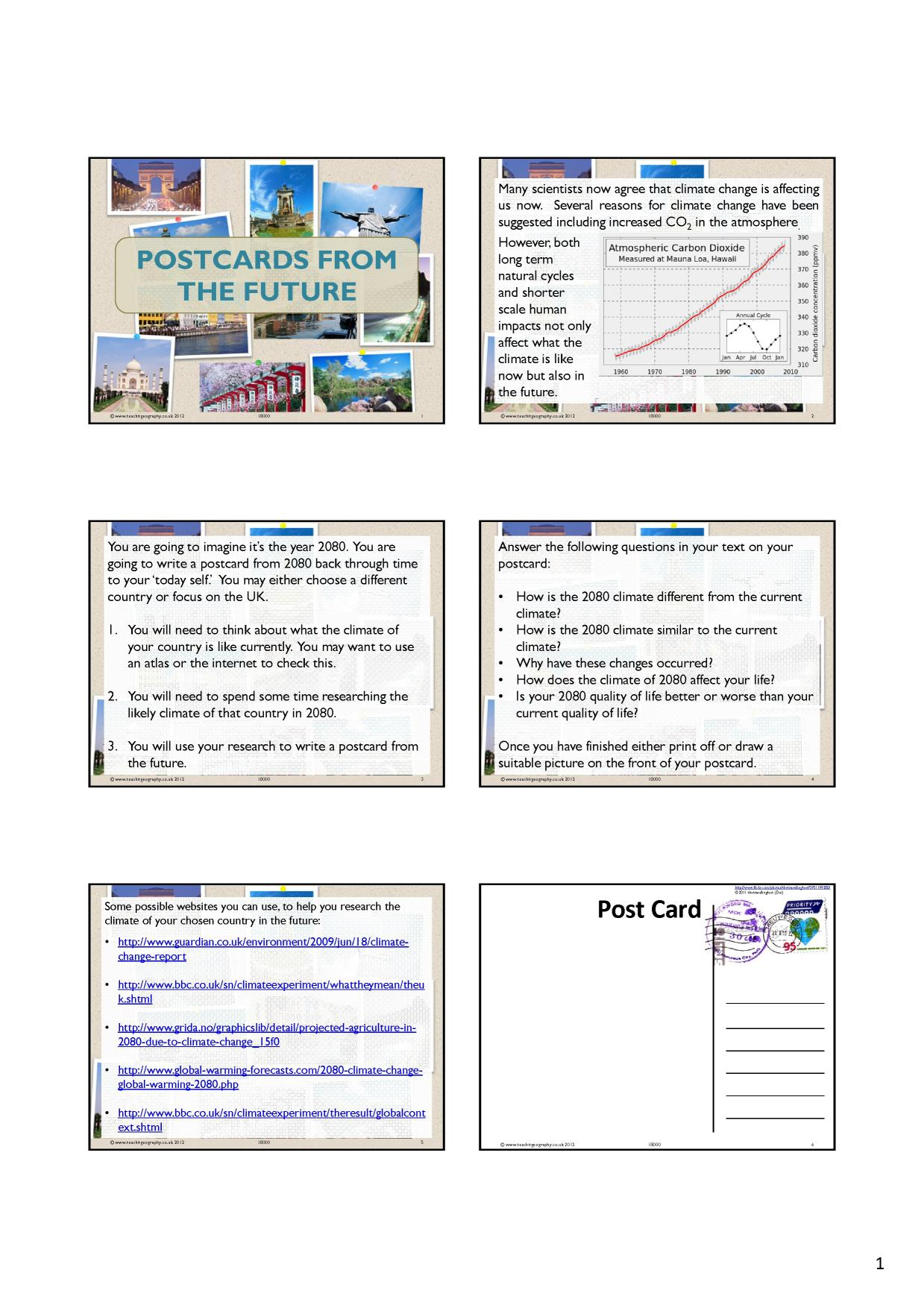 worksheet Climate Change Worksheet ks3 climate change teachit geography 3 preview