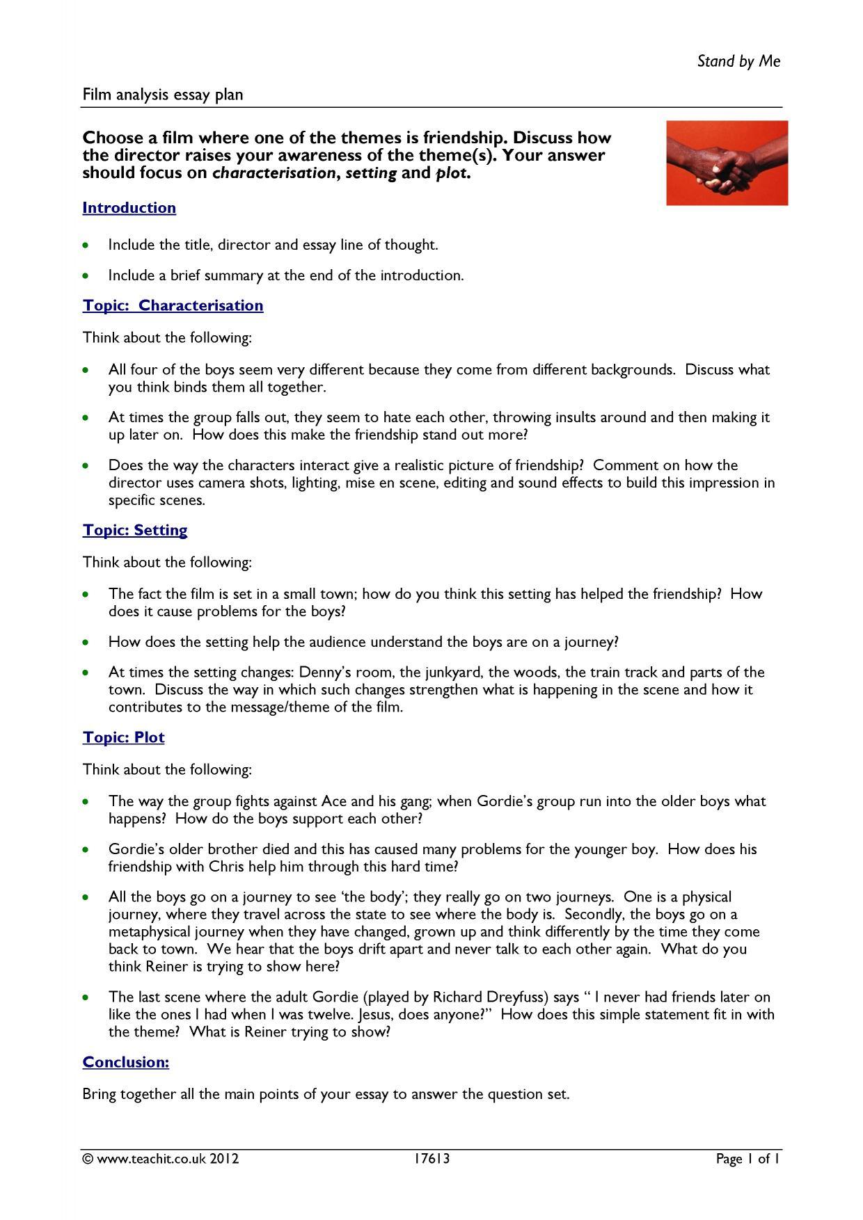 forrest gump analysis essay