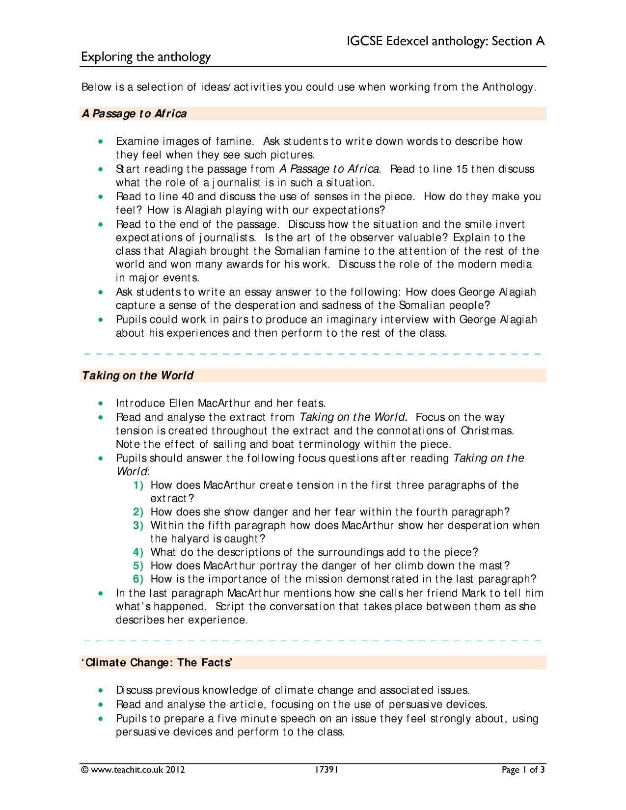 aqa food anthology essay Science a aqa gcse english literature working with the poetry anthology and notes aqa gcse food preparation and nutrition aqa workbook answers ielts essay.